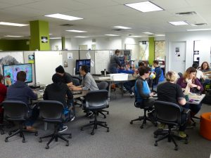 The Games Institute provides a flourishing collaboration space for graduate students and researchers across disciplines